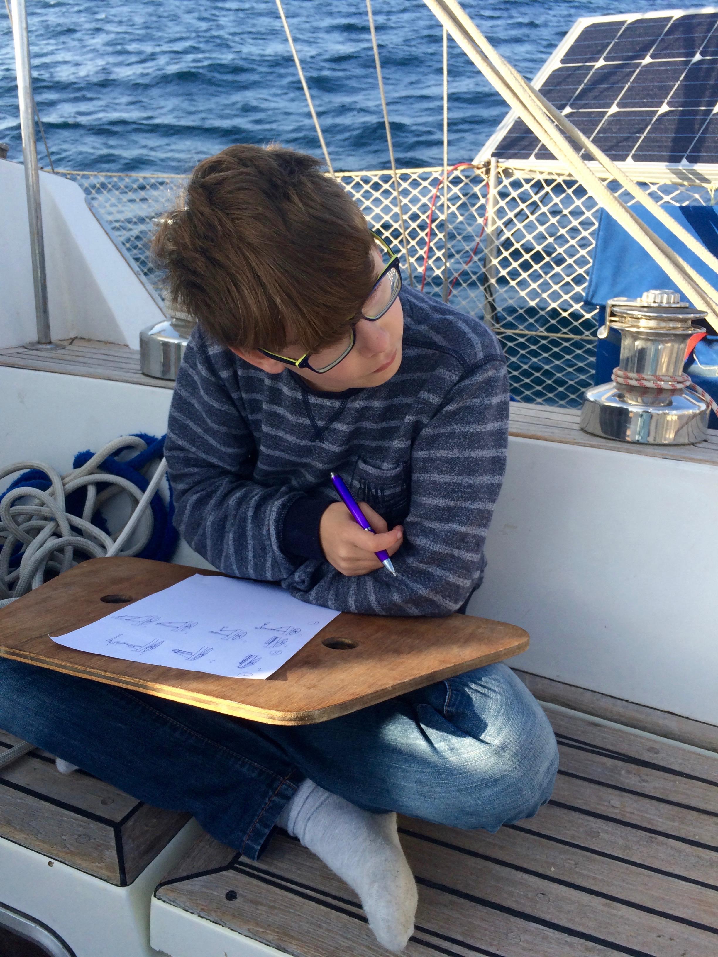 Boatnotes Ponyo Sailing with kids